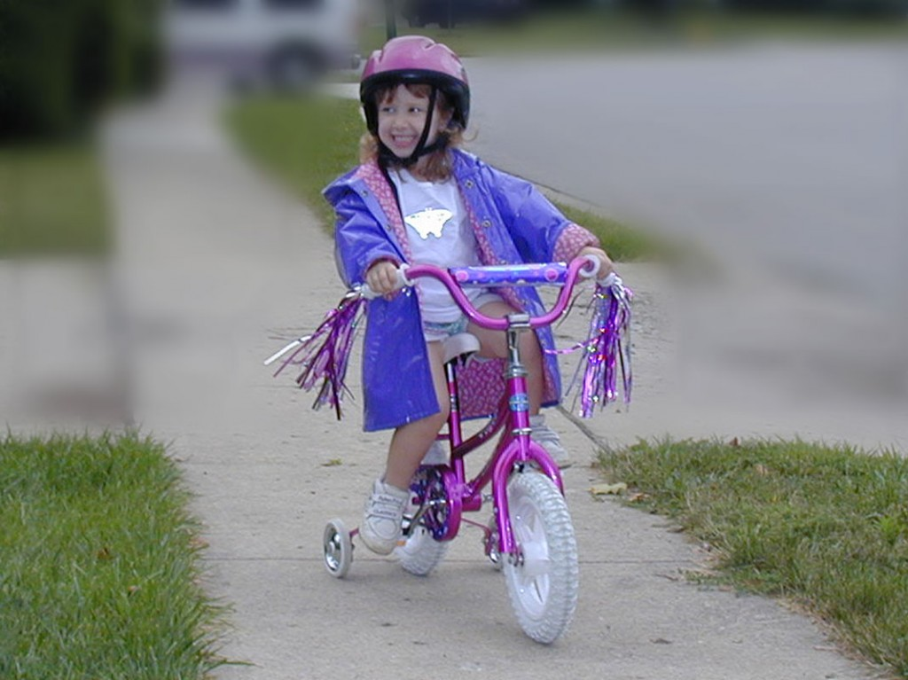 Julia on Bicycle
