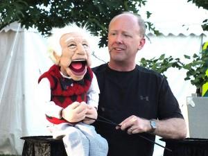 David at the Huron County Fair - Photo courtesy of the Norwalk Reflector