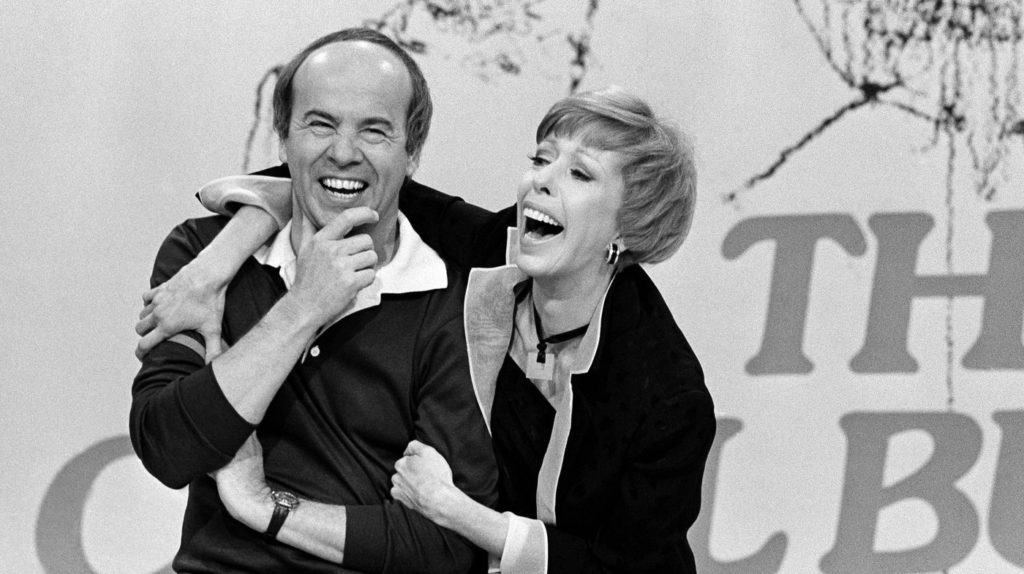 Carol Burnett and Tim Conway
