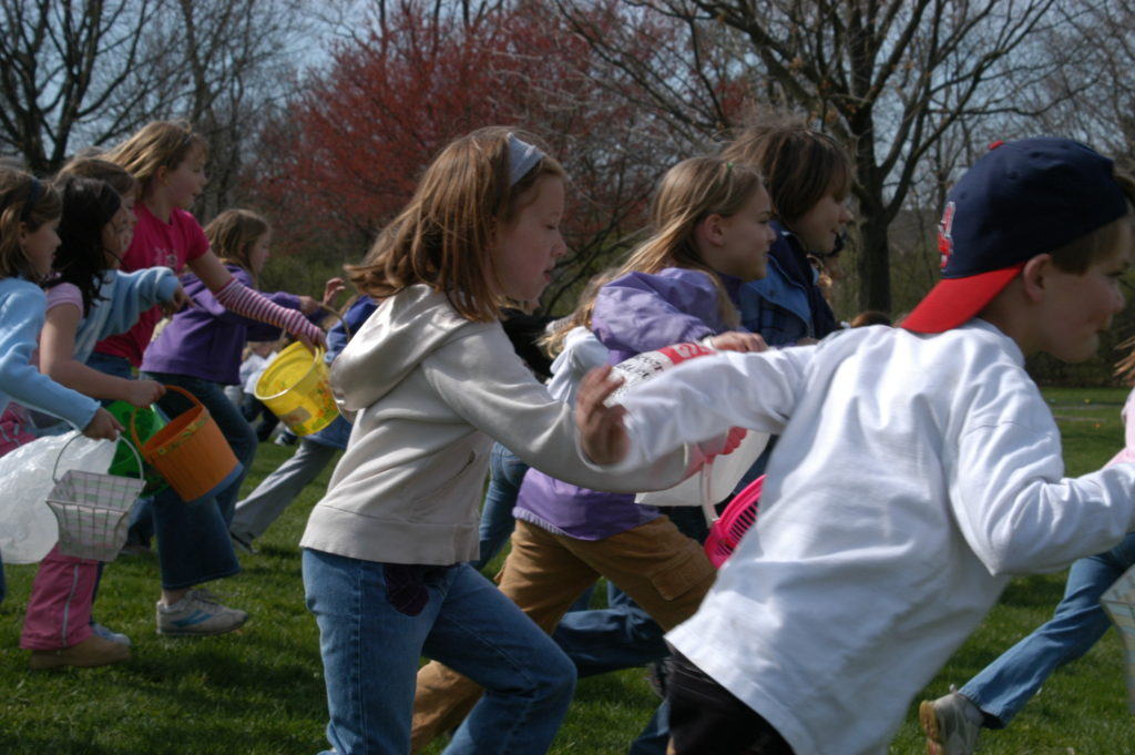 Photo of Easter Egg race
