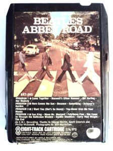 Photo of Beatles 8 Track cartridge