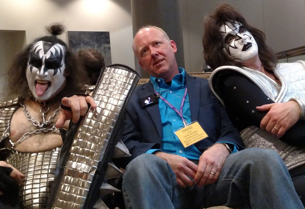 Photo of Kiss cover band