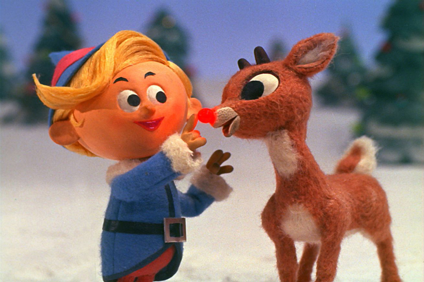 Image from Rudolph the Rednosed Reindeer