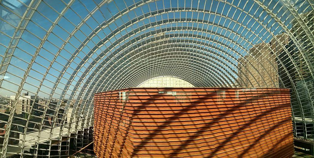 Photo of skylights
